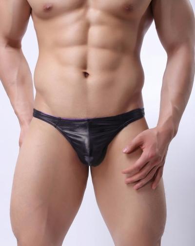 Quần lót nam bóng trai nhảy sexy đen 217A