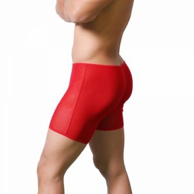 Quần lót boxer trong suốt màu đỏ 305C