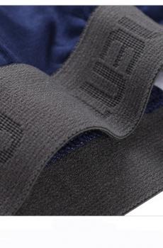 Quần lót nam cotton AOELEMEM màu đen 123A