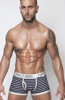 Quần boxer nam sọc PinkHero chất đẹp 310A