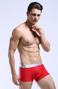Quần lót nam boxer AOELEMEM Lưng bóng đỏ 330A