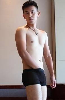 Quần lót nam boxer lưới mịn đen 345A