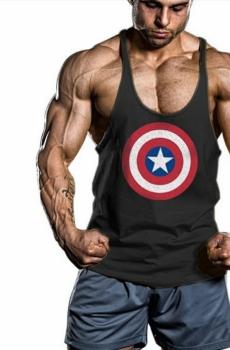 Áo tập thể hình Captain America 705A