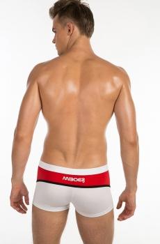 Quần bơi nam phong cách MIBOER cao cấp đỏ 911C