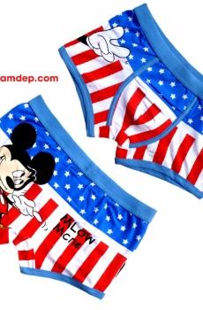Quần lót nam chuột Mickey cute H26 (Có đồ đôi)