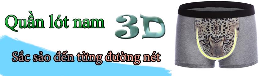Quần lót Nam in 3D