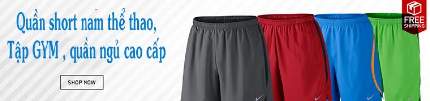 Quần Short nam thể thao, tập GYM, quần ngủ