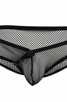 Quần sịp lưới đính cúc sexy 131