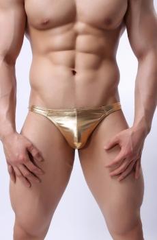 Quần lót nam trai nhảy sexy ánh vàng 217E
