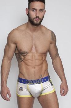 Quần lót boxer cao cấp hero trắng 350B