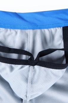 Quần sooc nam liền quần lót JQK cao cấp màu xanh 802D