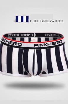 Quần boxer Nam sọc đen trắng nóng bỏng 308A