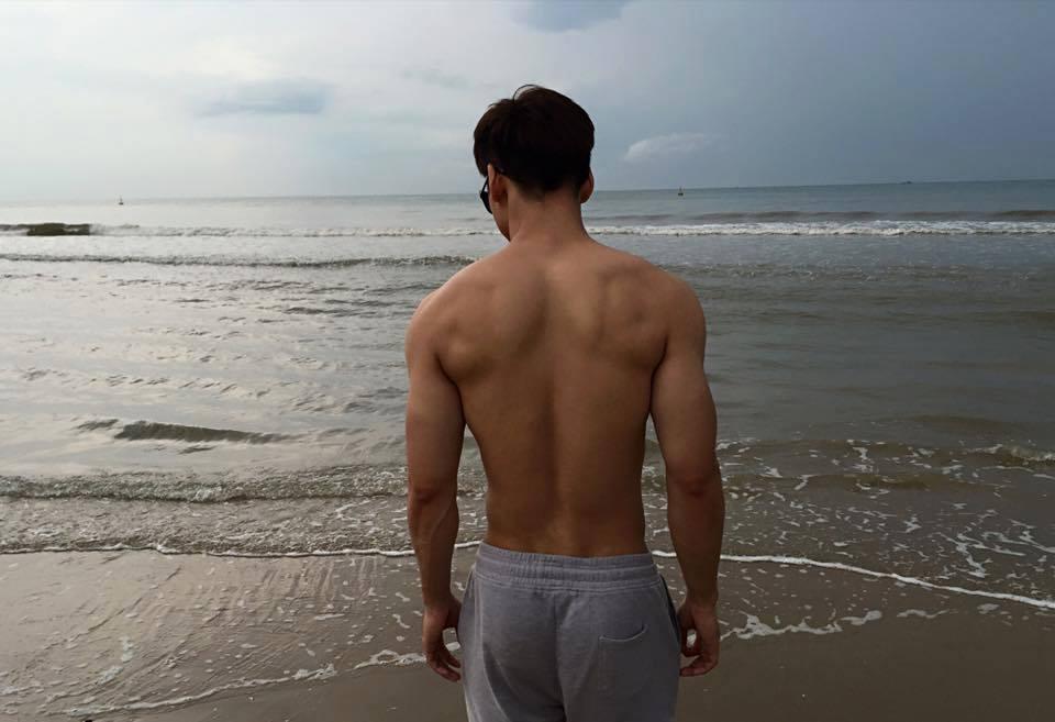 Người mẫu quần lót nam - Khắc Minh - To những chỗ cần to